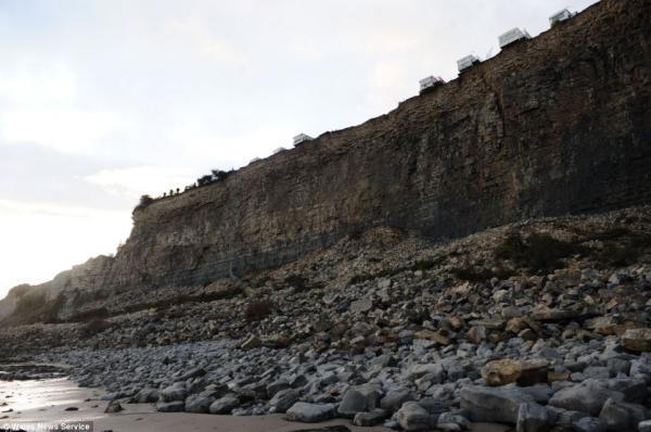erosión gravitacional